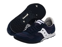 Saucony Bullet Navy White Women's Classic Shoes Blue