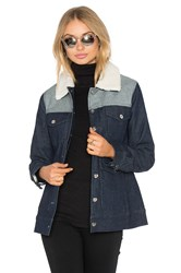 Lucca Couture Arya Jacket Denim Mix