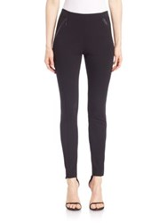 Elie Tahari Trian Pull On Leggings Navy Black