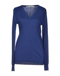 Peacock Blue Sweaters