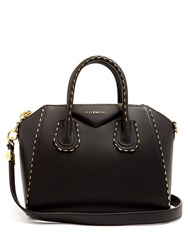 Givenchy Antigona Small Leather Tote Black Gold