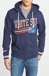 Men's Mitchell And Ness 'Chicago White Sox Race To The Finish' Full Zip Hoodie