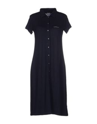 Colmar Knee Length Dresses Dark Blue