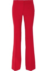 Gucci Stretch Wool And Silk Blend Flared Pants