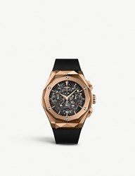 Hublot 525.Ox.0180.Rx.Orl18 Classic Fusion Aerofusion 18Ct Rose Gold Chronograph Watch
