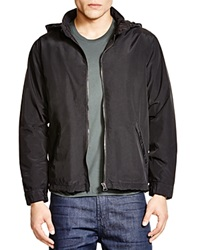 Blank Nylon Hooded Jacket
