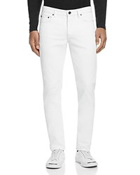 John Varvatos Collection Woodward Straight Fit Jeans In White