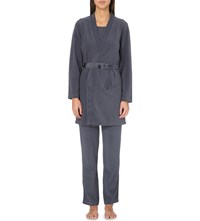 Princesse Tam Tam Igloo Self Tie Robe 2188 Slate Grey
