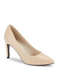 Cole Haan Abigail Grand Leather Stiletto Pumps Nude