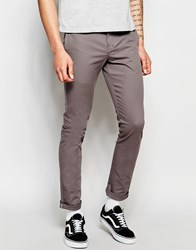 Dickies 803 Work Pant Chino In Skinny Fit Grey