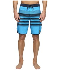 O'neill Hyperfreak Generator Scallop Superfreak Series Boardshorts Neon Blue Men's Swimwear