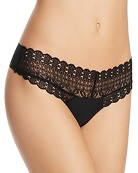 Honeydew Skinz Lace Thong Black
