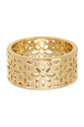 Ariella Collection Filagree Metal Band Ring