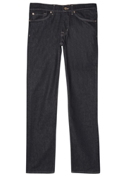 7 For All Mankind Indigo Relaxed Jeans
