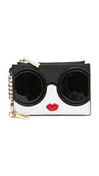 Alice Olivia Stacey Face Zip Coin Purse Multi