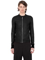 Rick Owens Patchwork Leather Jacket