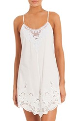 In Bloom By Jonquil Women's Eyelet Chemise