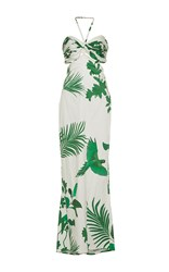 Johanna Ortiz M'o Exclusive Selva Halter Dress Print