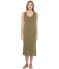 Culture Phit London Sleeveless Midi Dress Olive Women's Dress