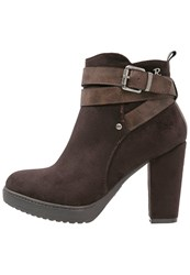 Refresh Ankle Boots Marron Brown