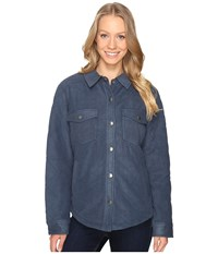 Royal Robbins Foxtail Fleece Shirt Jack Navy Women's Fleece