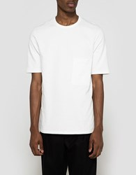 Christophe Lemaire Tee Shirt In Chalk
