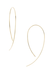 Lana 'Hooked On Hoop' Earrings Yellow Gold