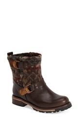 Women's Woolrich 'Baltimore' Engineer Boot Java Leather Et Wool
