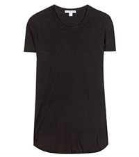 James Perse Cotton T Shirt Black