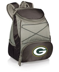 Picnic Time Green Bay Packers Ptx Backpack Cooler Black Gray