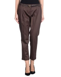 Naf Naf Trousers Casual Trousers Women Dark Brown