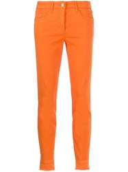 Luisa Cerano Cropped Slim Fit Trousers 60