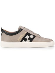 Bally Race Lace Up Sneakers Grey