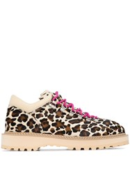 Diemme Monfumo Low Top Leopard Print Hiking Boots 60