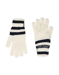 Armani Jeans Gloves White