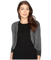 Rsvp Lexington Sweater Black Silver Women's Sweater