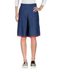 Andrea Incontri Denim Skirts Blue