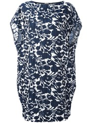 I'm Isola Marras Floral Print Dress Blue