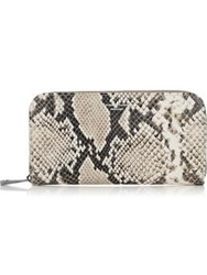 Aspinal Of London Continental Clutch Wallet Natural Ivory