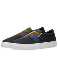 Marcelo Burlon Colour Wing Slip On Sneaker Black