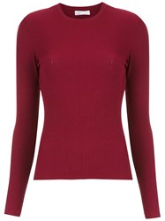 Spacenk Nk Long Sleeved Top Red