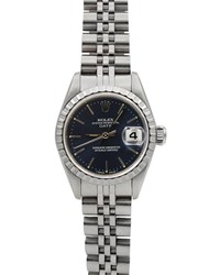 Rolex Pre Owned 26Mm Oyster Perpetual Date Bracelet Watch