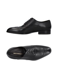 Bruno Magli Lace Up Shoes Black