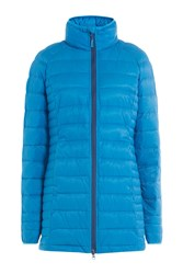 Canada Goose Quilted Down Jacket Blue