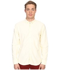 Billy Reid Oxford Shirt Pale Yellow Men's Sweater