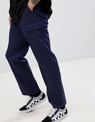 Weekday Limited Edition Hare Striped Smart Joggers Black