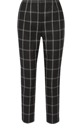Lanvin Wool Blend Flannel Tapered Pants