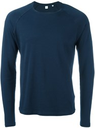 Aspesi Crew Neck Sweatshirt Blue