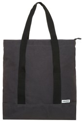Converse Shield Tote Bag Almost Black
