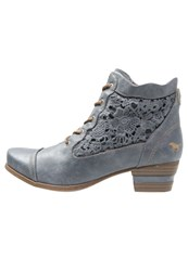 Mustang Ankle Boots Sky Blue